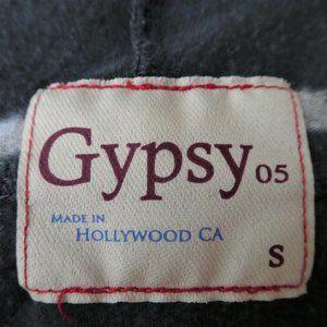 Gypsy 05 Tops - Gypsy05 Tee Striped Supima Scoop Dolman Navy S